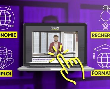 Campagne d'information accords bilatéraux Portfolio récent projet réalisation video